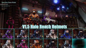 "XCOM 2 ""Halo Reach Helmets / 21 шлем из Halo Reach"""