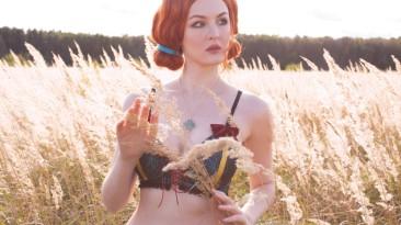 Косплей Трисс Меригольд из The Witcher 3