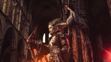 Качественный косплей на Lilith из Diablo IV