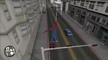 Моддер несколько лет трудится над добавлением Человека-паука в GTA: San Andreas