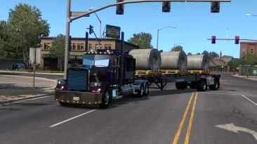 """American Truck Simulator """"Прицеп Benson Flatbed в собственность"""""""
