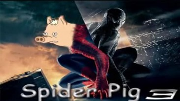 Spider-Pig : Shatterd Simpson