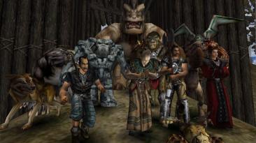 Редкие скриншоты альфа-версии Gothic для Е3 2000