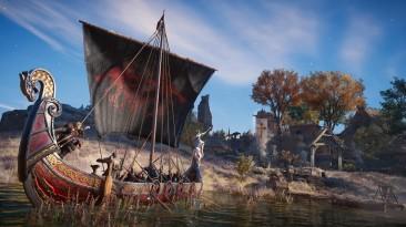 Расширение River Raid для Assassin's Creed Valhalla выйдет в феврале 2021 года