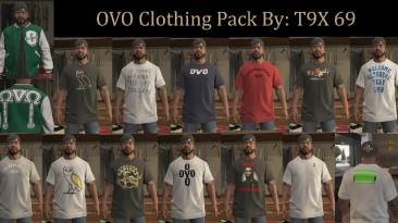 "GTA 5 ""OVO Clothing Pack 1.0"""