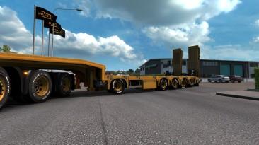 """Euro Truck Simulator 2 """"Подъемные оси для негабаритных прицепов (1.41.х)"""""""