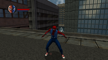 "Spider-Man: The Movie Game ""Паук-панк"""