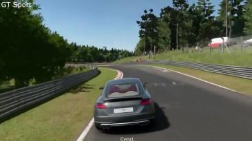 Сравнение графики Gran Turismo Sport vs Forza Motorsport 6