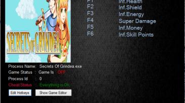 Secrets Of Grindea: Трейнер/Trainer (+6) [0.800b] {MrAntiFun}