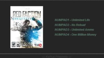 Red Faction - Armageddon: Трейнер (+3) [1.0 - DX9 & DX11] {KelSat}