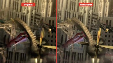 Bayonetta Сравнение графики Original vs. Remaster(GameSpot)