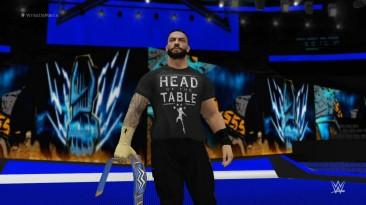 "WWE 2K17 ""ROMAN REIGNS '21 Наряд WWE 2K18 Порт мод"""