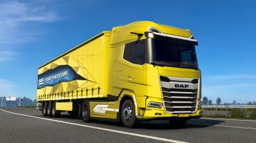 В Euro Truck Simulator 2 добавлены совершенно новые DAF XG и XG+