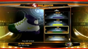 """NBA 2K13 """"Дневник разработчиков: обувь"""""""