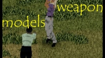 """Project Zomboid """"Missing weapon models"""""""