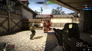 Black Squad | Тест HNK417GL MP7A1 G36GL
