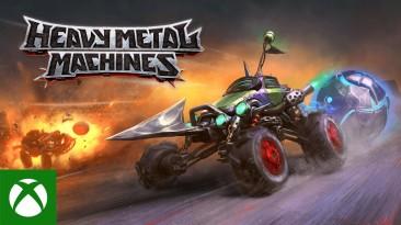 Heavy Metal Machines добралась до Xbox