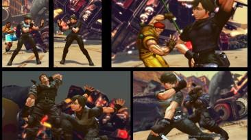 "Street Fighter X Tekken ""Ibuki as Rebecca Chambers"""
