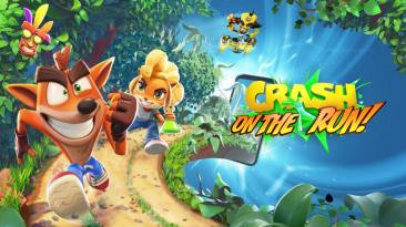 Мобильная Crash Bandicoot: On the Run выйдет на iOS в марте 2021 года