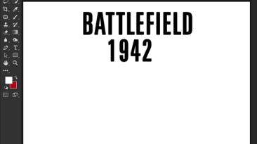 """Battlefield 1942 """"Шрифт для фотошопа и прочих редакторов"""""""