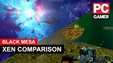Настоящий ремейк - сравнение мира Зен из оригинальной Half-Life и Black Mesa