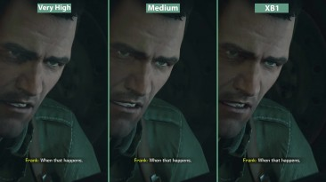 Dead Rising 4 - Сравнение графики PC Very High vs. Medium vs. Xbox One (Candyland)