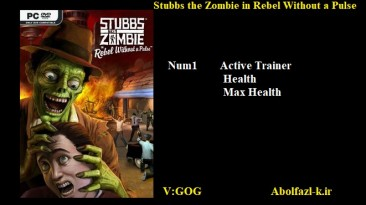 Stubbs the Zombie in Rebel without a Pulse: Трейнер/Trainer (+3) [1.0] {Abolfazl.k}