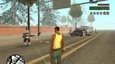 "Grand Theft Auto: San Andreas ""Охота за Сиджеем снюхавшимися с полицией балласами (SA) 1.0"""