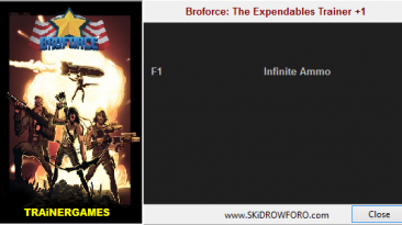 BroForce: The Expendables Missions: Трейнер/Trainer (+1: Ammunition / Амуниция) [All Versions] {TRAiNERGAMES}
