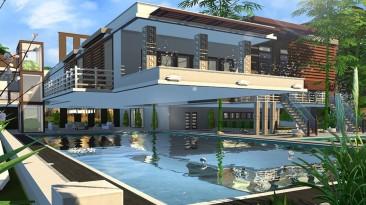 """The Sims 4 """"Дом в современном стиле"""""""