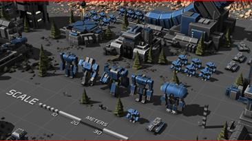 Новые скриншоты Planetary Annihilation