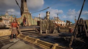 Разнообразие людей и их занятий в Assassin's Creed: Origins