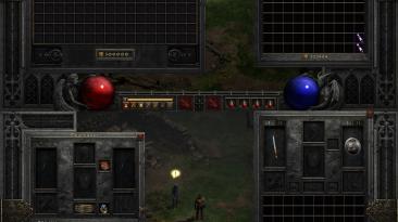 """Diablo 2: Resurrected """"Расширенный инвентарь и слоты экипировки"""""""