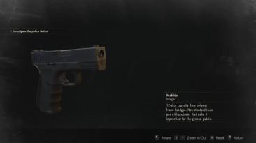 """Resident Evil 2 """"Glock 19 over Matilda"""""""