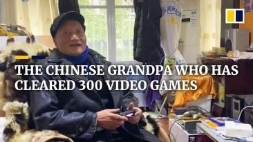 86-летний дедушка из Китая прошёл 300 игр
