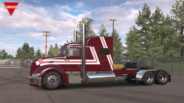 "American Truck Simulator ""Грузовик Peterbilt 386 Build 2 ATS 1.37.x"""