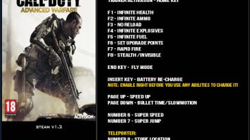 Call of Duty ~ Advanced Warfare: Трейнер/Trainer (+16) [1.3] {LinGon}