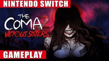 Полчаса геймплея Switch- версии The Coma 2: Vicious Sisters