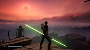Jedi Fallen Order - очень красивая игра. Пейзажи здесь круче, чем в Skyrim