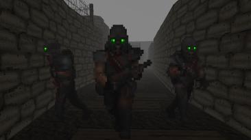 В новой модификации для Doom 2 появились оружие и враги из Warhammer 40,000