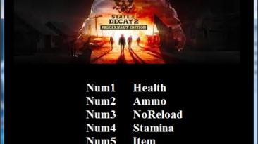 State of Decay 2 Juggernaut Edition: Трейнер/Trainer (+5) [1.0] {Abolfazl.k}