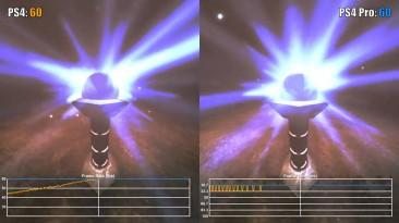 Amnesia: The Dark Descent PS4 vs PS4 Pro Частота кадров (VG Tech)