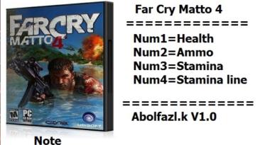 Far Cry: Matto 4: Трейнер/Trainer (+4) [v1.0] {Abolfazl.k}
