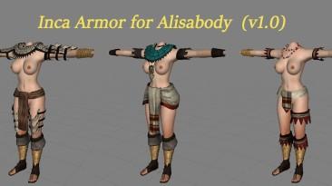 """Mount & Blade """"Броня инков для Алисы / Inca Armor for Alisabody ( v. 1.0 )(18+)"""""""
