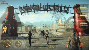 "Fallout 4 ""Статус Компаньонов HUD"""