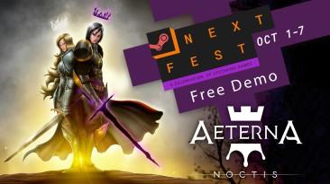 Демоверсия 2D-Metroidvania Aeterna Noctis будет доступна во время Steam Next Fest с 1 по 7 октября