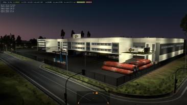 "Euro Truck Simulator 2 ""Новые Префабы Компаний Ikw logistik ETS2 1.35.x"""