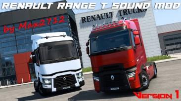 "Euro Truck Simulator 2 ""Звуковой мод Renault Range T v1.0 (1.40.x)"""