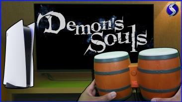 Душевные ритмы: Игрок впечатляет прохождением Demon's Souls для PlayStation 5 на барабанах