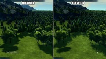 Anno 2205 - Сравнение Min vs. Max
